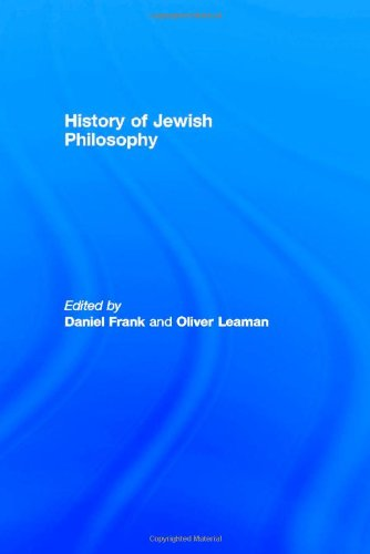 History of Jewish Philosophy (Routledge History of World Philosophies)
