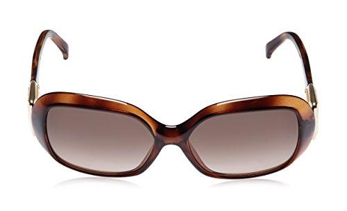 Fendi Fendi Oversized Sunglasses (Demi Brown) (FS 5191R|238|58) (Multicolor)