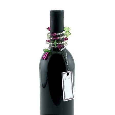 Grape Swirl Wine Bottle Jewelry - 2 Bottle Jewelry Per Gift Box Picture