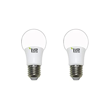 Imperial 3W-CW-E27-3640 Screw LED Bulb (White, Pack Of 2)