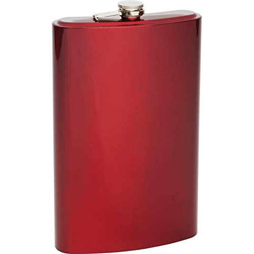 Arctic Blast 64oz Jumbo Stainless Steel Flask- Red