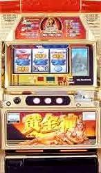 【平和/オリンピア】黄金神 【中古パチスロ実機/フルセット】家庭用電源OK!
