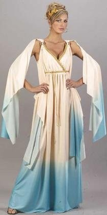 Buy Adult Greek Goddess Costume – Small/Medium (2-8)