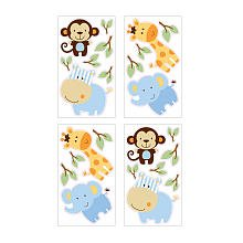 Little Bedding Jungle Play Wall Decals - 1