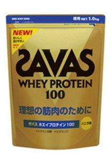 ザバス(SAVAS) ホエイプロテイン100 バニラ風味 1kg