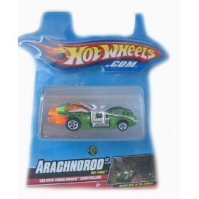 Buy Low Price Mattel Hotwheels Turbo Driver Arachnorod Car-Tridge Figure (B001DQA37A)