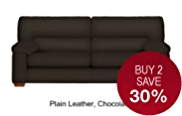 Buxton Large Sofa - Leather