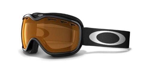 Oakley Stockholm Snow Goggles Jet Black Persimmon