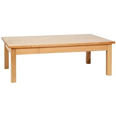 Bolero DL447 Wooden Coffee Table, Natural