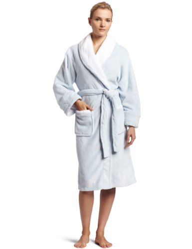Colorado Clothing Women's Bliss Robe, Spa Blue, Large/X-Large (Walmart Women Clothing compare prices)