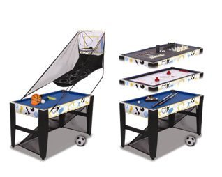 GoGlory 12-in-1 Multi Game Table