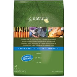 By Nature Large Breed Adult Formula Dry Dog Food