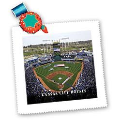 3dRose qs_100754_1 Home of The Kansas City Royals Quilt Square, 10 by 10-Inch at Amazon.com