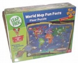 Cheap MASTER PIECE PUZZLE world map fun facts 48pc (B000S946WG)