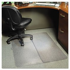 E.S. Robbins 120082 Foldable 36X48 Rectangle Chairmat, Task Series For Carpet Up To 1/4 In. front-915518