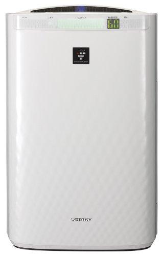 SHARP KIREION 加湿空気清浄機 高濃度7000プラズマクラスター技術 加湿17畳/空清30畳 ホワイト系 KC-Y65-W