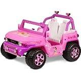 Disney Princess Toyota FJ Cruiser 12-Volt Battery-Powered Ride-On