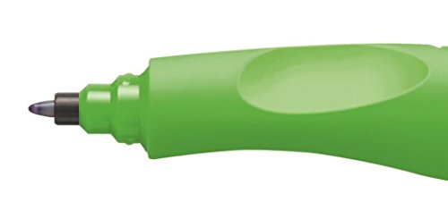 Stabilo 6892/13-4103 - Bolígrafo para diestros, color verde neón