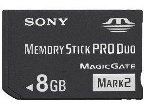 Imagen de 8 GB Sony Pro Duo (Mark 2) Memory Stick para PSP