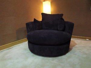 online sofa wholesale dylan black jumbo cord swivel cuddle. Black Bedroom Furniture Sets. Home Design Ideas