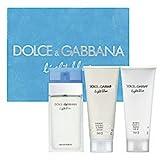 Light Blue by Dolce & Gabbana Eau de Toilette Spray 100ml, Body Cream 100ml & Shower Gel 100ml