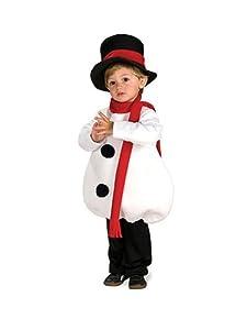 Rubies Baby Snowman Children's Costume, Toddler