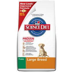 Hill's Science Diet Puppy Large Breed Formula Dry Dog Food
