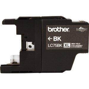 Brother LC75BK High Yield Ink Cartridge Black