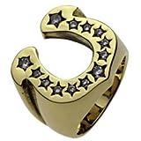 【セノーテ】 cenote r7006 23号 【ブラスアクセサリー リング・指輪】 真鍮 ホースシュー 馬蹄リング 幸運のモチーフ メンズ