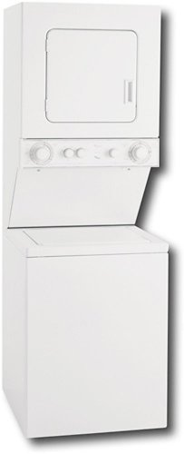 Whirlpool LTE5243DQ 24-Inch Thin-Twin Stacked Washer/Dryer Electric Laundry Center