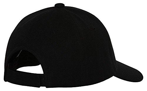 Marijuana-Leaf-Small-Logo-Adjustable-Hat-Cap-Black