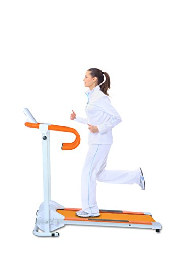 Best Buy Award Auwit Folding Treadmill 600W (Orange, 600W)