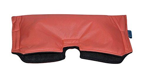 Tivoli Couture Universal Stroller Handmuff/Hand Warmer, Peach/Grey