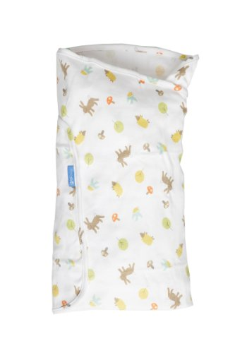 The Gro Company Swaddle, Woodland Friends, 0-3 Months - 1