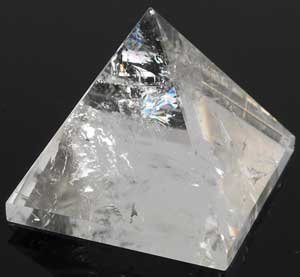 Clear Quartz Crystal Pyramid 1