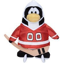 Buy Low Price Jakks Pacific Disney Club Penguin 6.5 Inch Series 5 Plush Figure Hockey Player [Includes Coin with Code!] (B002W3MYWU)