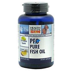 Orange Flavored Fish Oil