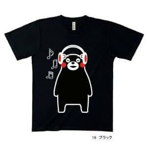 くまモン/くまもんグッズ//ミュージックTシャツMサイズ