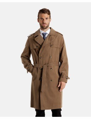 london-fog-mens-plymouth-twill-belted-double-breasted-iconic-trench-coat-dark-khaki-44-regular
