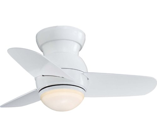 Minka Aire F510-WH Spacesaver 26 in. Indoor Ceiling Fan - White