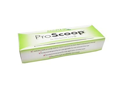 Propulse ProScoop Ear Wax Removal Scoops (50 scoops) by Propulse