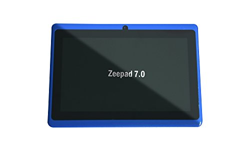 7.0 Capacitive Touch Screen 512M/4G Tablet PC All Winners A13 Jelly Beans Android 4.2 Cortex A8 Dual Camera BLUE