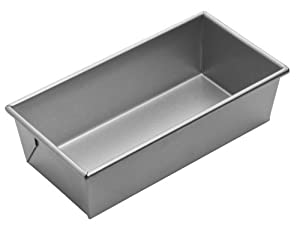Focus Foodservice Commercial Bakeware 10 by 5-Inch Loaf Pan, 1-1/2-Pound