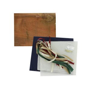 country ribbon picture board craft kit - Pack of 5