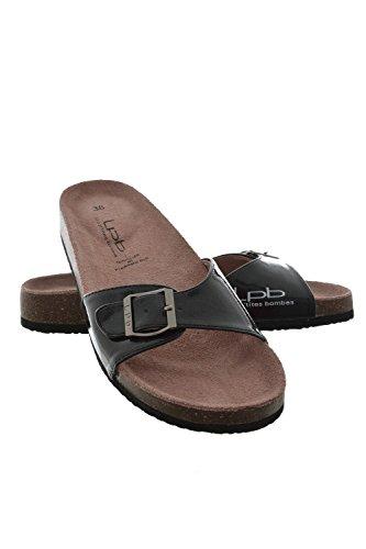 Sandali, nu les p'tites bombes piedi opaline, colore: nero, Nero (nero), 35