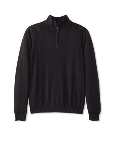 Robert Graham Men's Dene Long Sleeve Merino Sweater