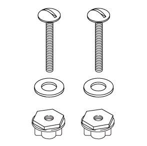 Kohler K1054649 Hardware Pack Toilet Mounting Bolts And