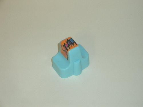 Start - 1 kompatible Patrone zu HP Cartrige für Nr. 363 - light cyan / foto blau - passt in die folgenden Drucker: HP Photosmart D6160 D7160 D7260 D7360 D7460 8250 - Sofortiges Einsetzen der Tintenpatrone - kein Chipumbau - 100% Füllstandsanzeige - Top Tinte - Qualitäts Ersatzpatrone