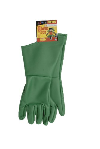 Teen Titans Child'S Robin Gloves front-506614