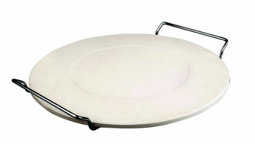 ibili-778333-piedra-para-pizza-con-soporte-33-cm